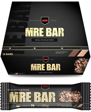 RedCon1 MRE Bars Crunchy Peanut Butter Cup 12 Bars
