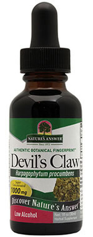 Nature's Answer Devil's Claw Root 1000 mg. 1 oz. Liquid