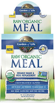 Garden of Life RAW Organic Meal Packets Vanilla