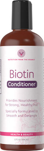 Vitamin World Biotin Conditioner 12 oz. Liquid