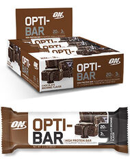 Optimum Nutrition Opti-Bar Protein Bars 12 Bars Chocolate Brownie