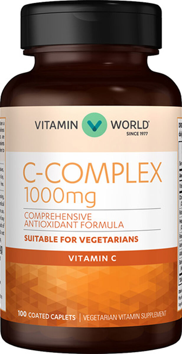 Vitamin C Complex 1000mg Caplets Vitamin C Vitamin World