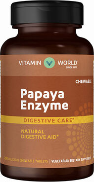 Vitamin World Papaya Enzyme 250 Tablets