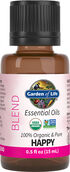 Garden of Life Organic Essential Oil Happy Blend