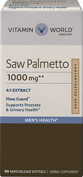 Saw Palmetto 1,000mg