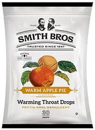 Smith Brothers Smith Brothers Warming Throat Drops Warm Apple Pie 30 Lozenges