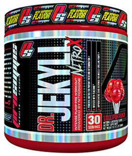 Dr. Jekyll NitroX Preworkout 10.5 oz. Lollipop Punch