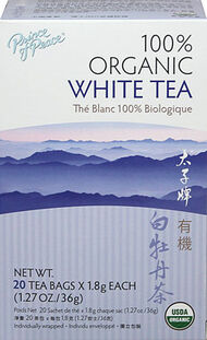 Prince of Peace 100% Organic White Tea 20 Tea Bags
