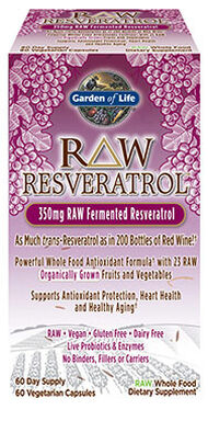 Garden of Life RAW Resveratrol