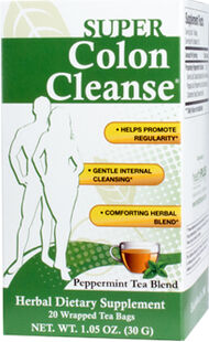Super Colon Cleanse Peppermint Tea, , hi-res