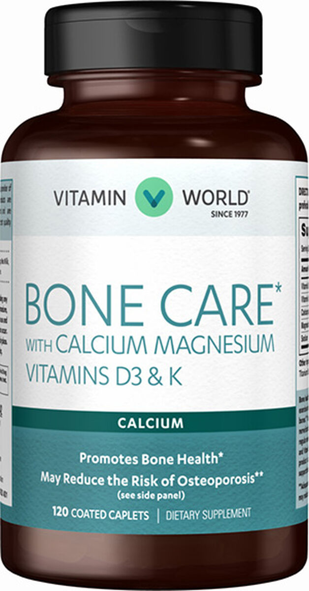 Bone Care with Calcium...