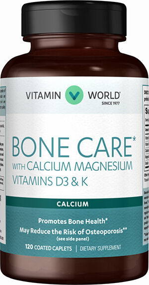 Bone Care* with Calcium Magnesium Vitamins D3 & K