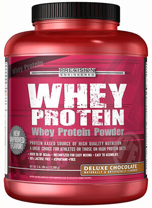 Whey Protein Deluxe Chocolate 5 lbs., , hi-res