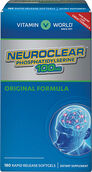 Vitamin World NeuroClear™ Phosphatidylserine 100 mg. 180 softgels