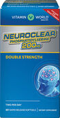 Vitamin World Double Strength NeuroClear™ Phosphatidylserine 200 mg. 60 Softgels 200mg.