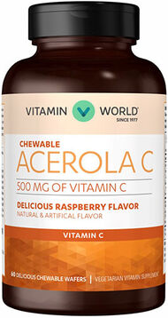 Acerola Vitamin C 500 mg. Chewable