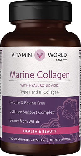 Vitamin World Marine Collagen 120 Capsules