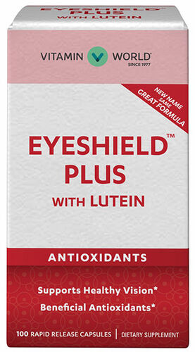 Eye Guard Plus w/ Lutein 100 Capsules Vitamin World Eye Guard Plus w/ Lutein 100 Capsules