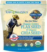 Garden Of Life Organic Golden Flax Seed & Organic Chia Seed 12 oz. Powder