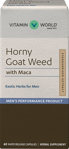 Vitamin World Horny Goat Weed with Maca