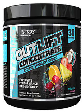 Outlift Concentrate Pre-workout Miami Vice 6.6 oz.