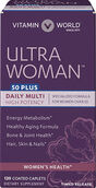 Vitamin World Ultra Woman™ 50 Plus Daily Multivitamins 120 Caplets