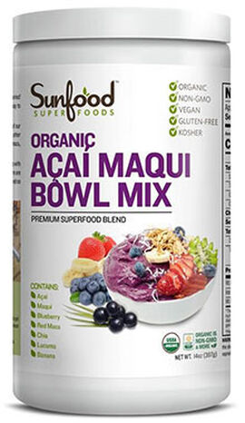 Organic Acai Macqui Bowl Mix