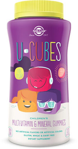 U-Cubes Children's Multi-Vitamin & Mineral Gummies