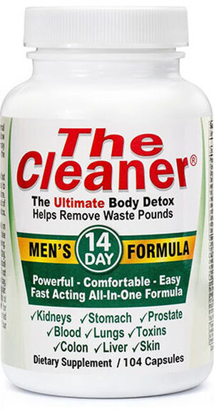 Century Systems The Cleaner® 14 Day Men's Formula 104 Capsules