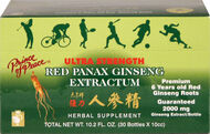 Prince of Peace Red Panax Ginseng Extractum 400 mg. 30 Bottle