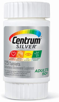 Centrum® Silver® Adults 50 Plus Multivitamins 125 Tablets