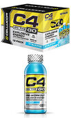 Cellucor C4® On The Go Preworkout Energy Drinks Icy Blue Razz 12 Bottle