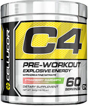 C4 Pre Workout Strawberry Margarita 13.75 oz.