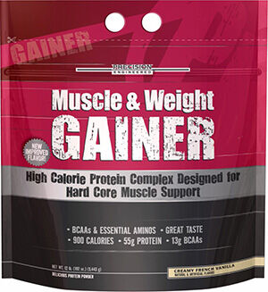 Muscle & Weight Gainer Creamy French Vanilla 12 lbs., , hi-res