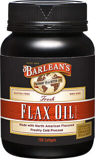 Barlean's Flax Oil 100 Softgels 2540MG