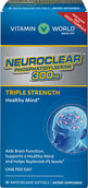 Vitamin World Triple Strength NeuroClear™ Phosphatidylserine 300 mg. 30 Softgels 300mg.