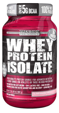 Whey Protein Isolate Strawberry 2 lbs., , hi-res