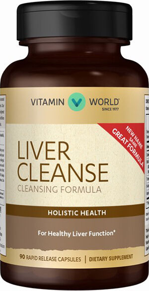 Vitamin World Liver Cleanse Cleansing Formula