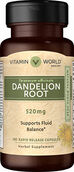 Vitamin World Dandelion Root 520 mg. 100 Capsules