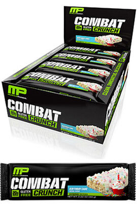 Combat Crunch™ Protein Bars Birthday Cake