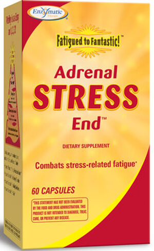 Enzymatic Therapy, LLC. Adrenal Stress End 60 Capsules
