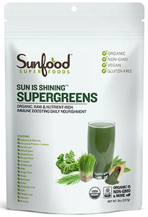 Sunfood™ Sun is Shining™ Supergreens 8 oz. Powder