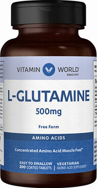 L-Glutamine 500mg, , hi-res