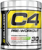Cellucor C4 Pre Workout Strawberry Margarita 6.87 oz. 7 oz. Powder