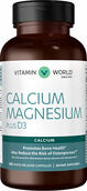 Vitamin World Calcium Magnesium plus Vitamin D3 250 Capsules