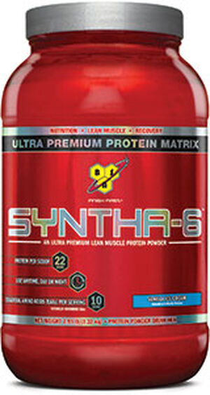 Syntha-6 Whey Protein Vanilla Ice Cream 2.91 lbs., , hi-res