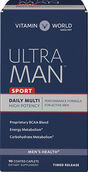 Vitamin World Ultra Man™ Sport Daily Multivitamins 90 Caplets
