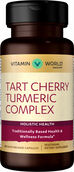 Vitamin World Tart Cherry Turmeric Complex 60 Capsules
