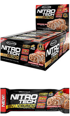 Nitro Tech™ Crunch Protein Bars Cinnamon Bun