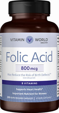Folic Acid 800mcg, , hi-res